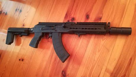 LTS Keymod replika AK105 LCT ak asg airsoft ak47 ak74 m4 zestaw tuning