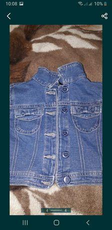 Куртка джинсовая джинсовка
