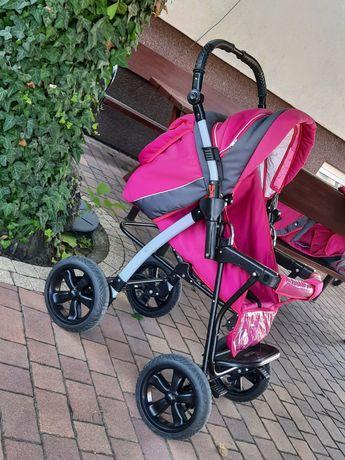 Wózek dziecięcy różowy