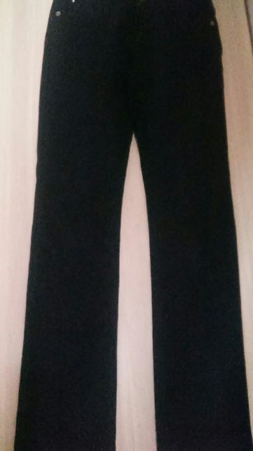 Школьные джинсы девоч на флисе 26 штаны Турция на 10-12 лет 140-152 см
