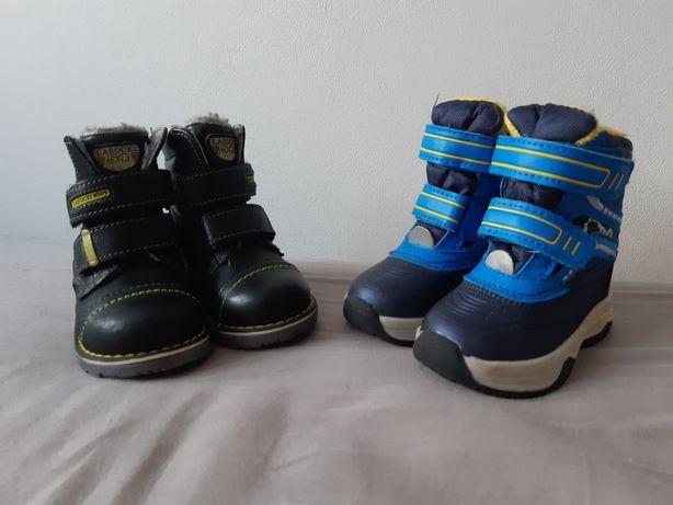 Buty zimowe, dziecięce, chłopięce, rozmiar 20, Lasocki i Lidl