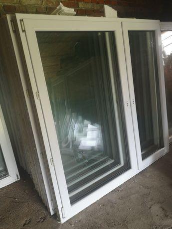 Okna okno PCV kolor biały 174x173