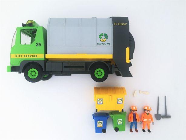 Brinquedo Playmobil: Camião Do Lixo, Set #3121, 2000