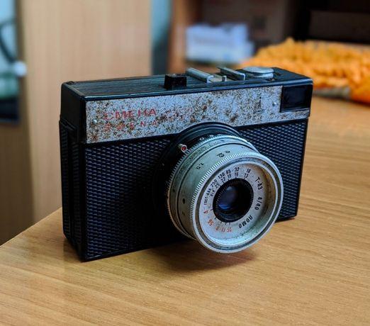 Пленочный фотоаппарат Смена 8М (Smena, Ломо, Lomo)