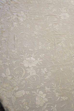 Raridade - Toalha antiga de seda chinesa