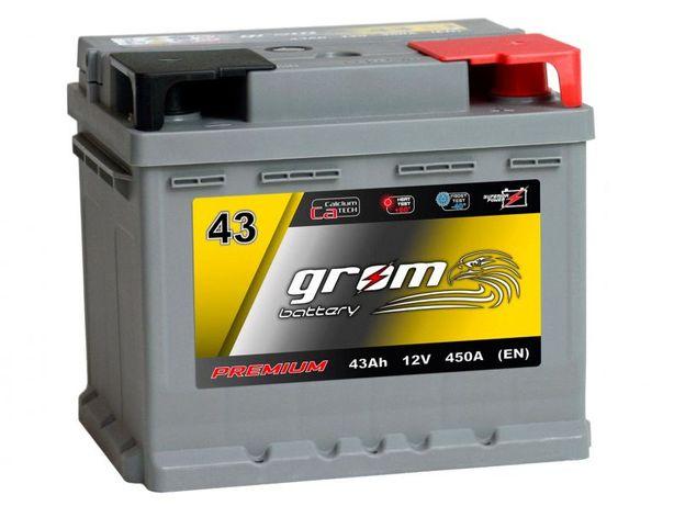 Akumulator Grom Premium 43Ah 450a
