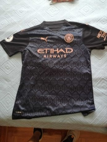 Camisola Alternativa Manchester City 2020.2021