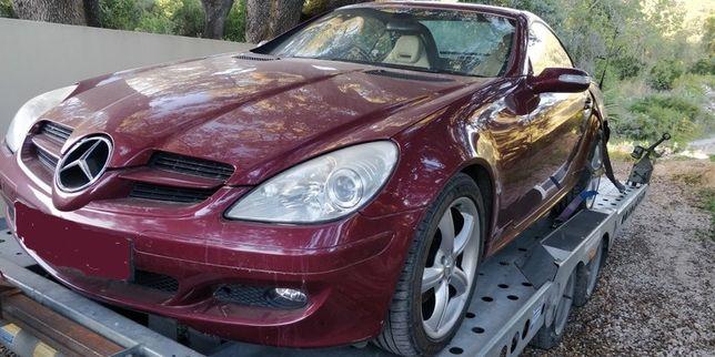 Mercedes SLK 280 Auto 2008, SLK 230 Kompressor 1999 Para Peças