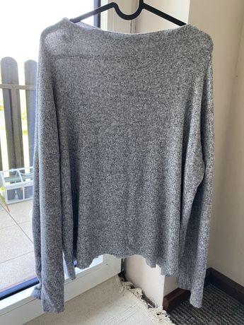 Sweter szary ZARA