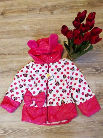 Куртка для девочки детская Демисезонная р 98- 110 Весна Акция!