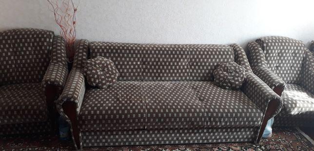 Набор мягкой мебели. Диван. Кресла. Стулья