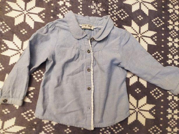 Koszula jeansowa miękka 86