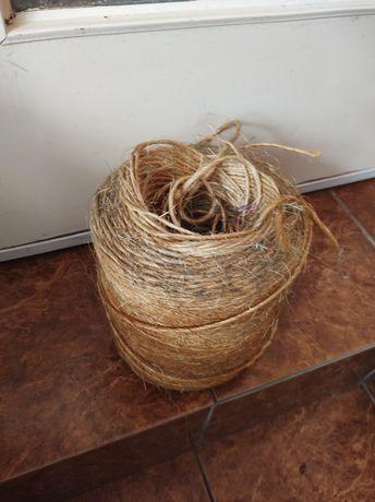 Duża szpula sznurka