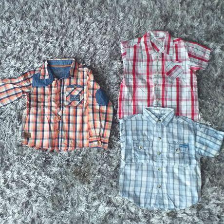 98cm 3 koszule dla chłopca