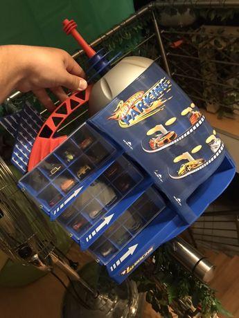 NOVA! Garagem Hotwheels para 24 carros