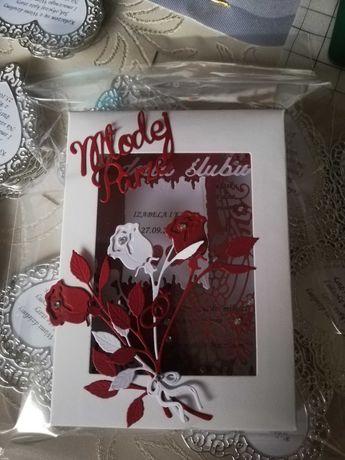 Kartka na ślub 2 w jednym