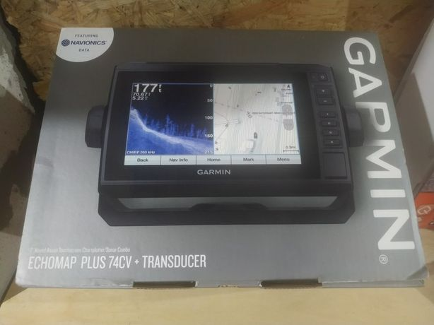 Картплоттер Garmin echoMAP 74cv Plus ( Новый)