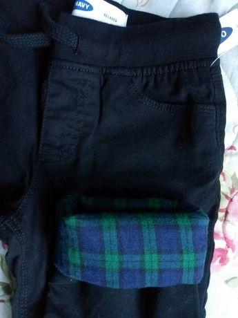 Новые утепленные джинсы на фланелевой подкладке GAP Old navy на 2-3 г