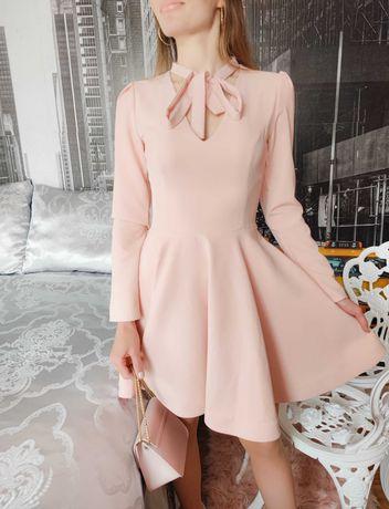 Vestido Cocktail Rosa super feminino