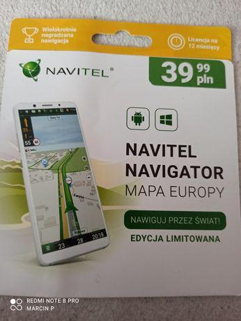 Navitel Navigator Mapa Europy Licencja 12 mcy