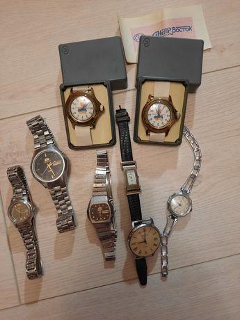 Часы Ориент, Romanson, Полет Poljot, Луч