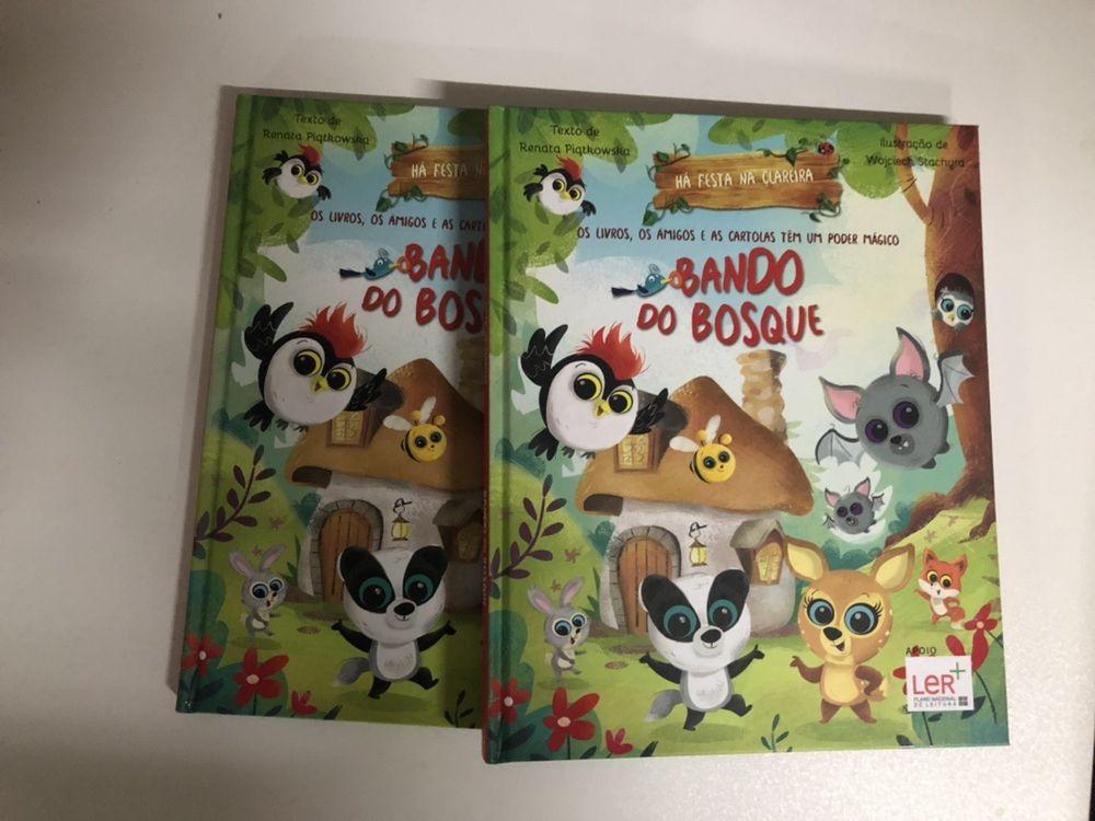 Livros e boneco - o bando dos bosques
