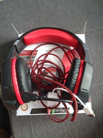 Słuchawki gaming Dragon Red Tracer