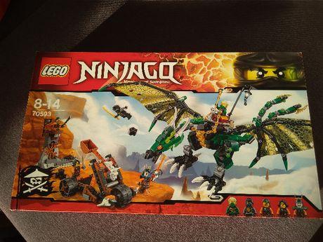 Klocki Lego 70593 Ninjago Zielony Smok Nrg- nowe
