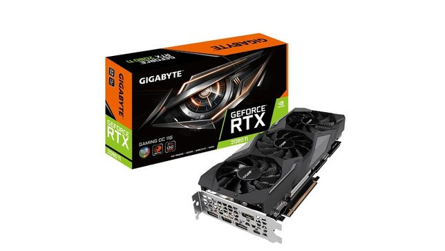 Karta graficzna Gigabyte GeForce RTX 2080Ti Gaming OC 11GB GDDR6 (R)