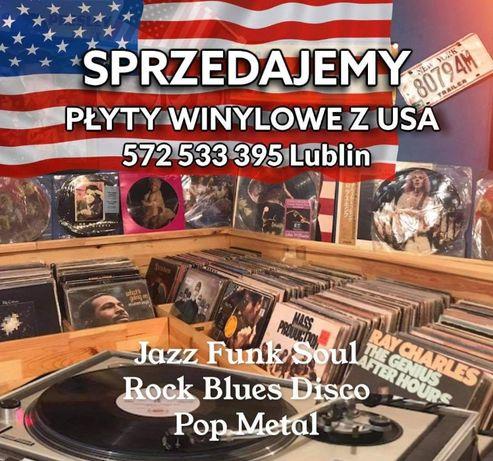 Płyta Płyty winylowe USA Jazz Funk Soul Rock Blues Disco Pop Metal