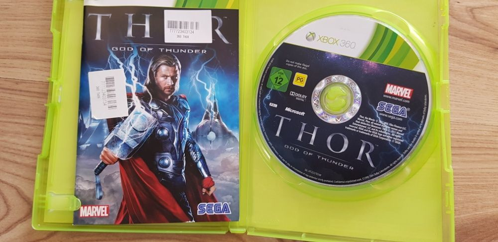 Gra Xbox 360 Thor god of thunder Piotrków Trybunalski - image 1
