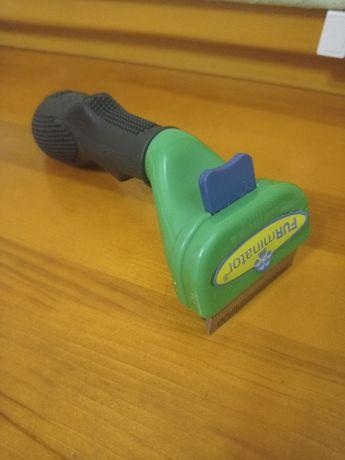 Расческа фурминатор пуходерка для британских или короткошерстных кош