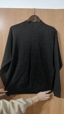 Czarny sweter meski XL
