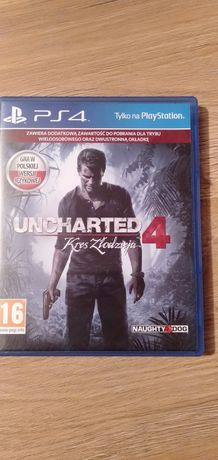 Uncharted 4: Kres Złodzieja (A Thief's End) (Gra PS4)