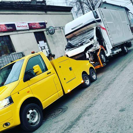 Pomoc Drogowa, Holowanie,  Bus Dostawcze Osobowe 24h