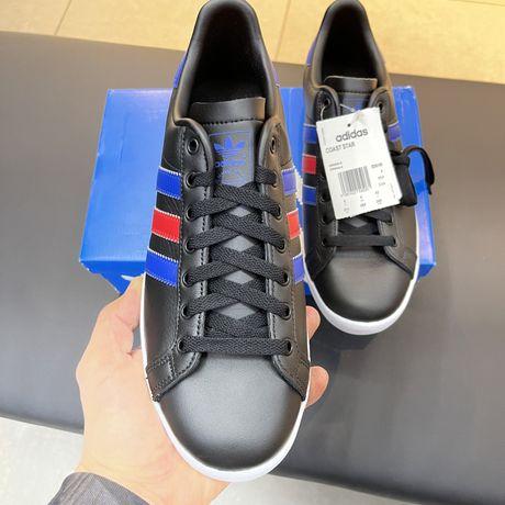 кроссовки кеды adidas кожа! оригинал 100%