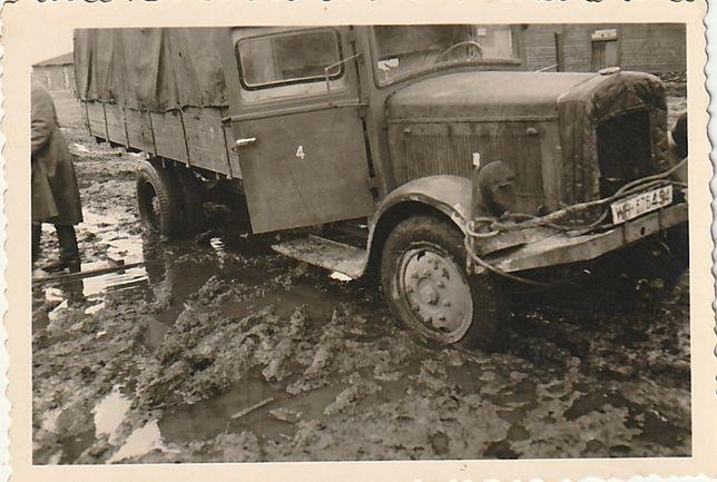 Wehrmacht wrzesień 1939 samochód