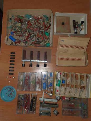 Części elektroniczne serwis diody, rezystory, kondensatory, potencjome