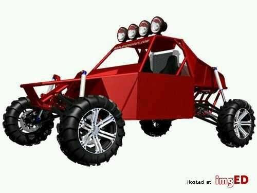 Plany budowy buggy badland st4