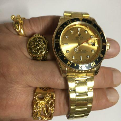 Rolex - высокое качество!!! Престижный подарок! Мужские автоматические