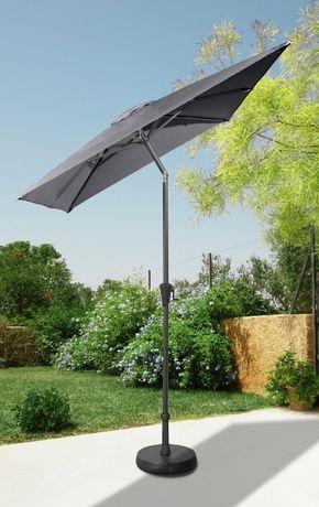 Parasol ogrodowy, 160x230 cm łamany
