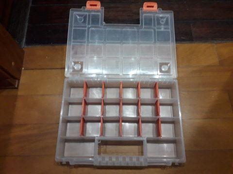 Organizer pojemnik pudełko na śruby itp - 20 przegród
