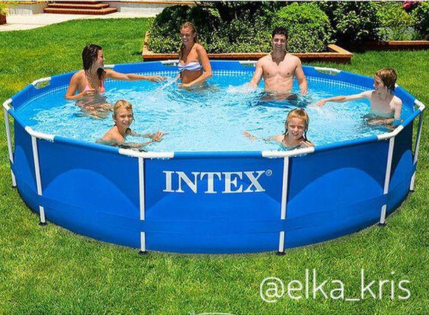 Басейн каркасний INTEX/Польща 305*76/Фільтр+насос/РОЗПРОДАЖ,Долина