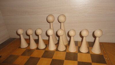 Шахматные фигуры Пешки 8 штук
