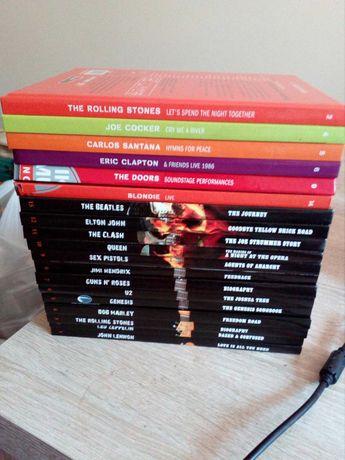 Dwie kolekcje DVD z koncertami klasyków rocka