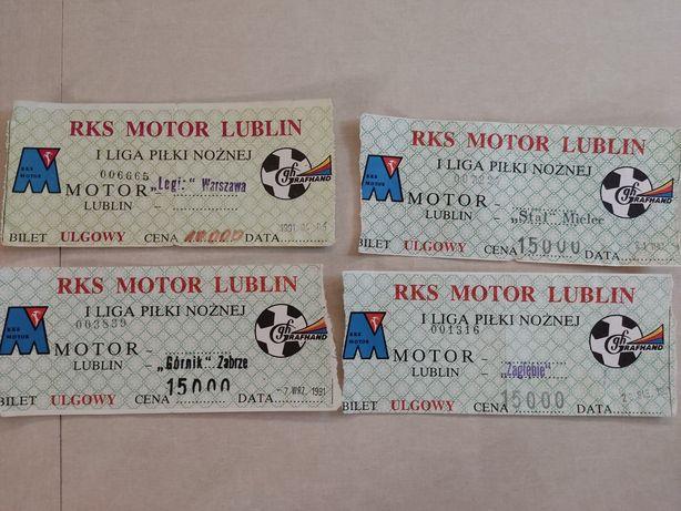 Bilety Motor Lublin 1991