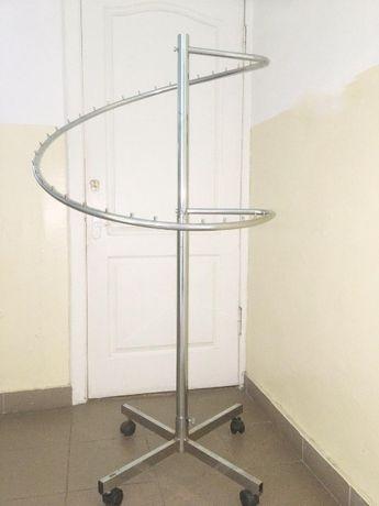 Стойка-спираль для одежды