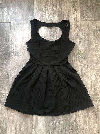 Roz. XS/S, Czarna sukienka mini