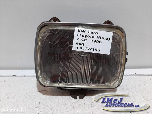 Farol normal Esq Usado TOYOTA/HILUX V Pickup / VW Taro 10.88 - 07.97