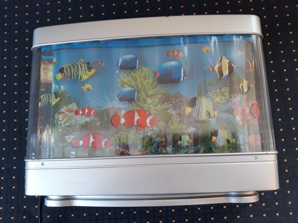 Lampka Akwarium RYBKI Dziecieca